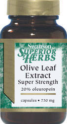 OLIVE LEAF EXTRACT 750mg 60kaps.